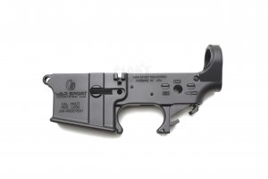 LVO* Styled Aluminium Lower Receiver (Anodized + Cerakote Coating)