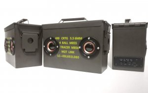FCC Bluetooth Potable Ammo Can Speakers