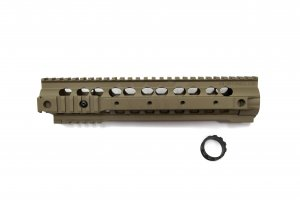 "RIS-URX3 10.5"" Rail System For PTW/ GBB (Cerakote Magpul FDE)"