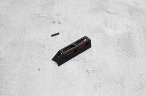 Dominator™ Tactical Fibre Optic Front-Sight Assembly (Red Fiber)