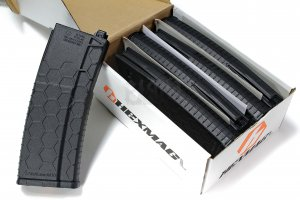 HEXMAG 120rd for PTW x5pcs pack (Black)