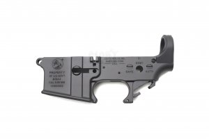 M16A4 Styled Aluminium Lower Receiver (Anodized + Cerakote Coating)